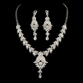 Ericdress Amazing Alloy Wedding Jewelry Set