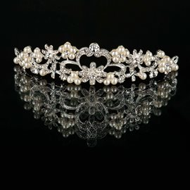 Ericdress Pretty Pearls Alloy Tiara