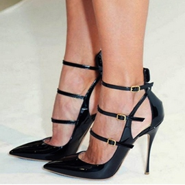 Sexy Pointed-toe Stiletto Sandals