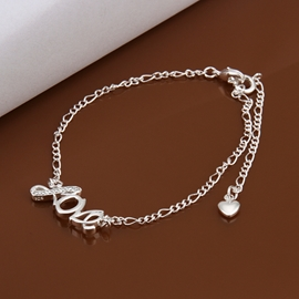Simple Love Shaped Nice Anklet