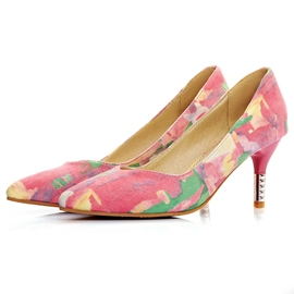 Pretty Patchwork Pumps