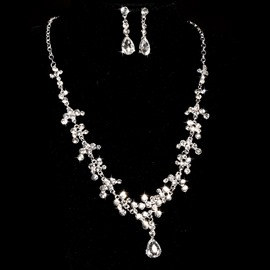 Ericdress Exquisite Rhinestone Wedding Jewel Sets