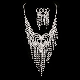 Ericdress Unique Hart Shaped Wedding Jewelry Set
