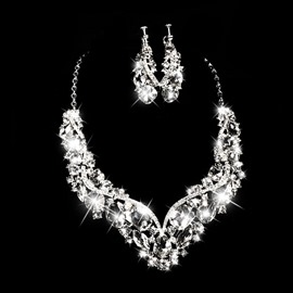 Ericdress Amazing Alloy Rhinestone Wedding Jewel Sets