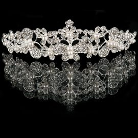 Ericdress Pretty Pearls Alloy Wedding Tiara