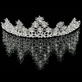 Ericdress Concise Alloy Rhinestone Wedding Tiara