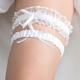 Ericdress Comely White Wedding Garter