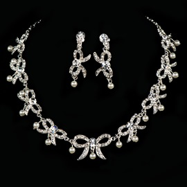 Ericdress Fancy Pearls Alloy Wedding Jewelry Set