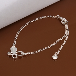 Concise Butterfly Shaped Anklet