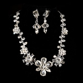 Ericdress Chic Crystal Wedding Jewel Set