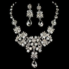 Ericdress Amazing Rhinestone Alloy Wedding Jewelry Set