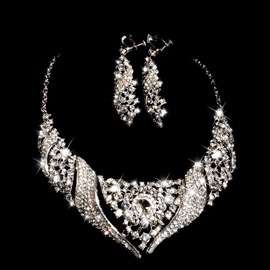 Ericdress Luxury Alloy Wedding Jewel Set