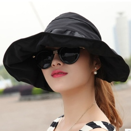 Foldable and Roofless Sunhat