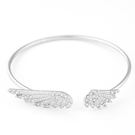 Lovely the Wings of Angle Shaped Bracelet