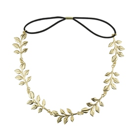 Ericdress Metallic Leaf Shape Headbands for Women