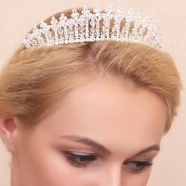 Ericdress Pretty Beading Wedding Tiara