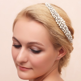 Ericdress Charming Pearls Wedding Tiara