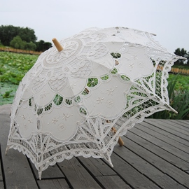 Ericdress Beautiful Handmade Bridal Umbrella