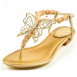 Princess Butterfly Clip-toe Flat Sandals