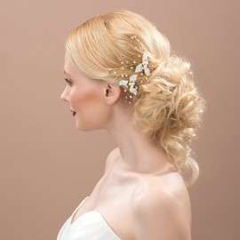 Ericdress Comely Pearls Hairpin
