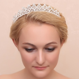 Ericdress Exquisite Beading Alloy Wedding Tiara