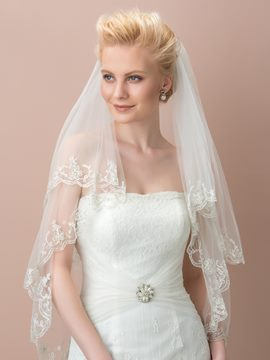 Ericdress Beautiful Appliques Wedding Veil