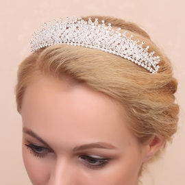 Ericdress Luxury Beading Wedding Tiara