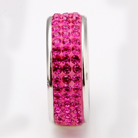Exaggerating Colorgul Rhinestone Decorated Ring