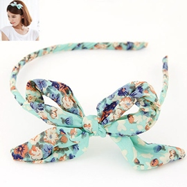 Lovely Bowknot Flowery Headband