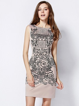 Ericdress Victorious Print Short Little Party Dress