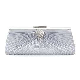 Ericdress Graceful Diamante Pleated Clutches