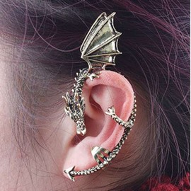 Ericdress Punk Style Dragon Ear Cuff