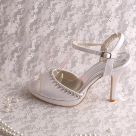 Ericdress Beautiful Rhinestone High Heel Wedding Shoes