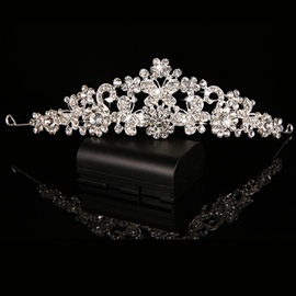 Ericdress Charming Butterfly Rhinestone Alloy Wedding Tiara