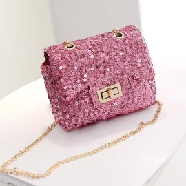Ericdress Shining Sequins Chain Shoulder/Crossbody Bag