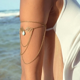 Euramerican Style Water-drop Shaped Bracelet for Arm