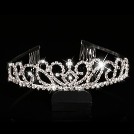 Ericdress Beautiful Alloy Tiara With Comb