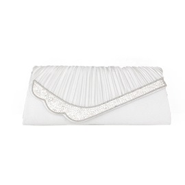 Ericdress Graceful Diamante Pleated Evening Clutches