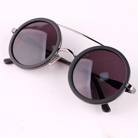 Ericdress Vintage Round Frame Sunglasses