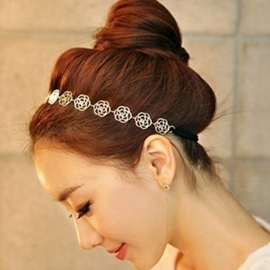 Ericdress Temperament Hollow Flower Headband