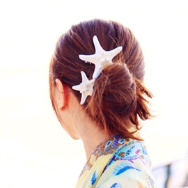Ericdress Natural Starfish Seaside Beach Holiday Headband