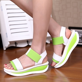 Bright Antiskid Flat Sandals
