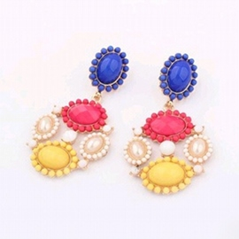 Ericdress Popular Ethnic Candy Color Earrings (Price For A Pair)