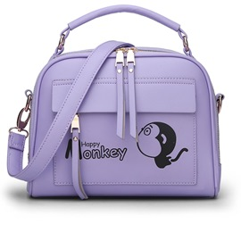 Ericdress Summer Cartoon Monkey Crossbody Bag