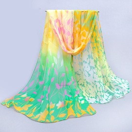 Ericdress Summer Protection Light Chiffon Shawl Scarf
