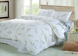 Ericdress Swing Wicker Print Cotton Bedding Sets