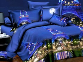 Ericdress Paris Night View 3D Bedding Sets