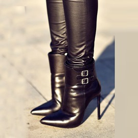 Elegant Pointed-toe High heel Boots