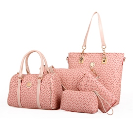 Ericdress Simple Pattern Tote Bags(5 Bags)