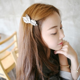 Ericdress Retro Metal Three Leaves Hair Clip